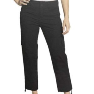 Blossom & Clover Ladies' Cargo Ankle Pants, Black